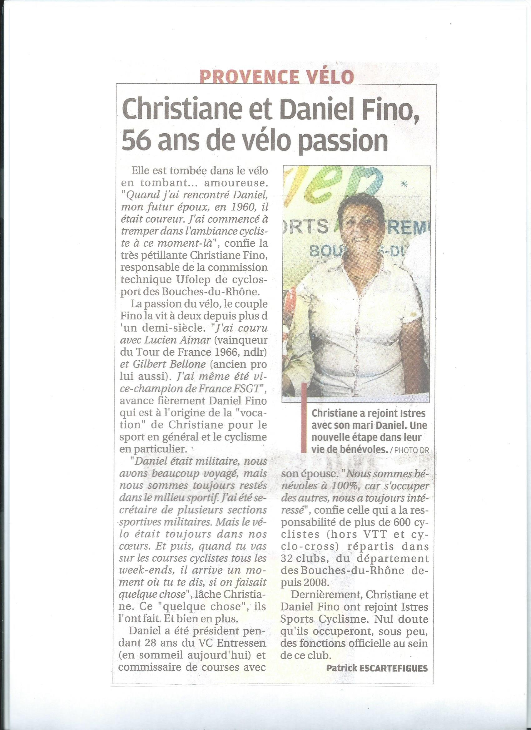 article de prrsse de mr mme fino 2016